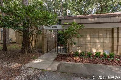 Gainesville FL Condo/Townhouse For Sale: $89,000