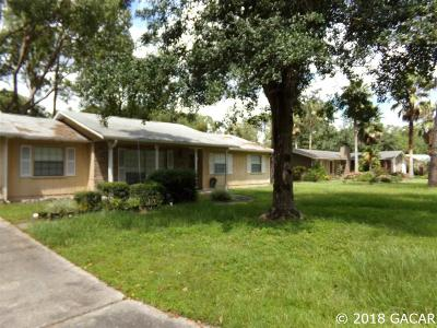Gainesville Single Family Home For Sale: 3134 NW 67th Place