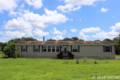 High Springs Single Family Home For Sale: 14541 NW 268th Street