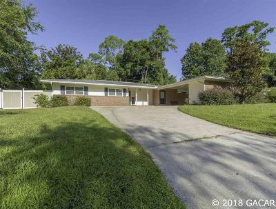 Gainesville FL Single Family Home For Sale: $235,000
