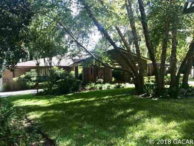 Gainesville Single Family Home For Sale: 7128 NW 47th Court