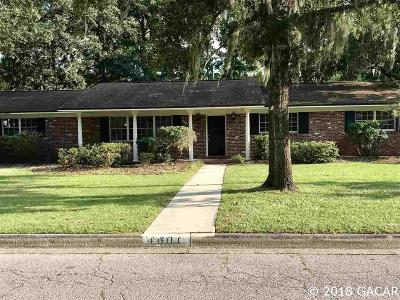 Gainesville Single Family Home For Sale: 4601 NW 13th Avenue