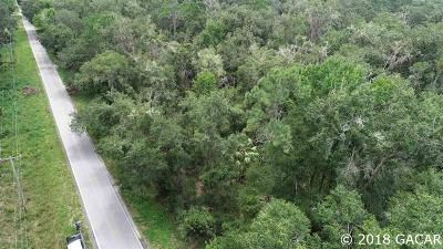 Micanopy Residential Lots & Land For Sale: SW Wacahoota Road