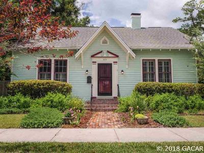 Gainesville Single Family Home For Sale: 1224 NE 5TH Terrace