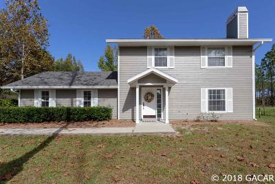Alachua Single Family Home For Sale: 10920 NW 199th Avenue