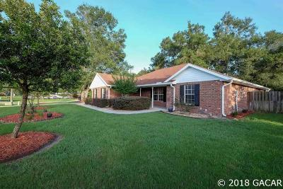 Newberry Single Family Home For Sale: 25501 SW 22 Place