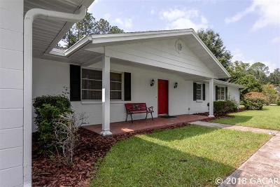 Gainesville Single Family Home For Sale: 8121 SW 36TH Avenue