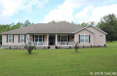 Alachua Single Family Home For Sale: 12424 NW 206th Terrace