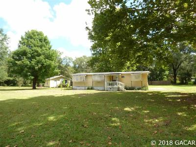 Archer Single Family Home For Sale: 10691 NE 109TH Street