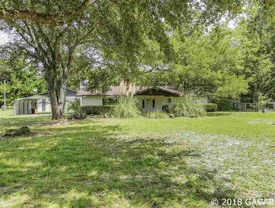 High Springs Single Family Home For Sale: 589 Adams Street