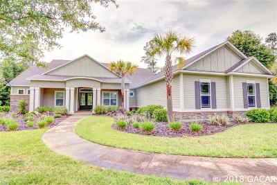 Alachua Single Family Home For Sale: 8418 NW 184TH Drive