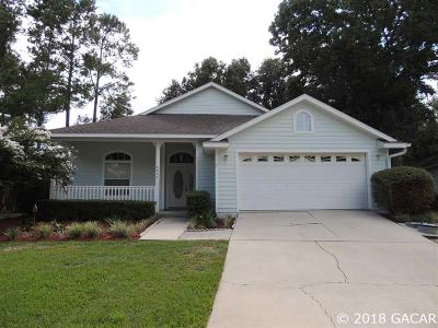 Alachua Single Family Home For Sale: 6827 NW 105th Avenue