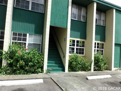 Gainesville Condo/Townhouse For Sale: 1114 NW 6TH Street #12