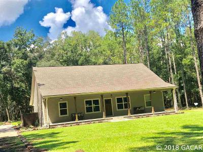High Springs Single Family Home For Sale: 25910 NW 110th Avenue