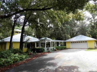 High Springs Single Family Home For Sale: 19123 NW 233rd Street
