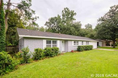 Gainesville Single Family Home For Sale: 3528 NW 52ND Avenue