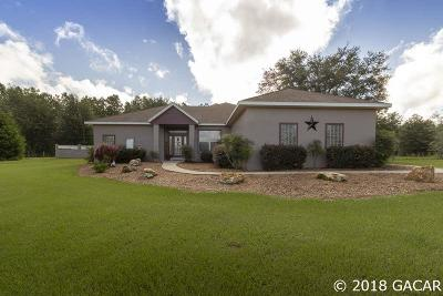 High Springs Single Family Home For Sale: 22435 NW 188th Street
