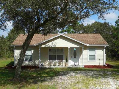 Williston FL Single Family Home For Sale: $118,000