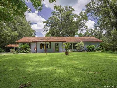 Gainesville Single Family Home For Sale: 2213 SW 122nd Street