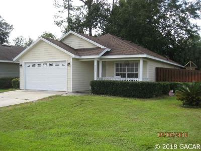 Alachua Single Family Home For Sale: 6033 NW 117th Place