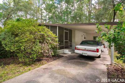 Gainesville Single Family Home For Sale: 8620 NW 13th Street #Lot 214