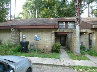 Gainesville Condo/Townhouse For Sale: 7014 SW 46 Avenue