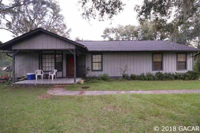 Melrose Single Family Home For Sale: 5309 NE County Road 219