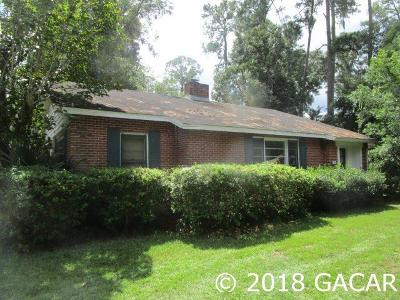 Gainesville Single Family Home For Sale: 2207 NW 2nd Avenue