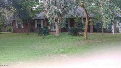 Newberry Single Family Home For Sale: 25318 SW 20th Avenue