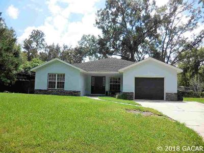 Alachua Single Family Home For Sale: 13513 NW 146th Avenue
