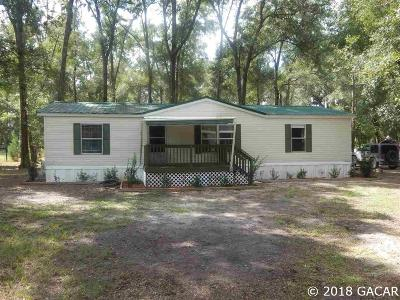 Williston FL Single Family Home For Sale: $89,900