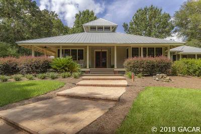 Alachua Single Family Home For Sale: 8822 NW 238 Street