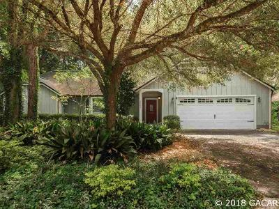 Gainesville Single Family Home For Sale: 8005 SW 47th Court