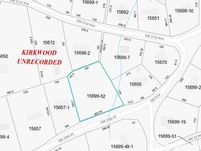 Gainesville Residential Lots & Land For Sale: 824 SW 25th Place