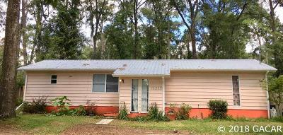 Alachua Single Family Home For Sale: 12218 NW 148th Ave