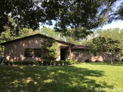 Gainesville Single Family Home For Sale: 3015 SW 100th Street