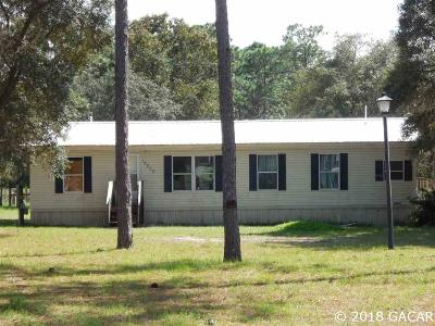 Dunnellon Single Family Home For Sale: 18800 SW 44th Street
