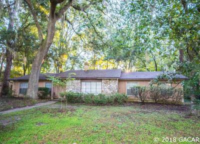Gainesville Single Family Home For Sale: 4711 NW 39TH Terrace