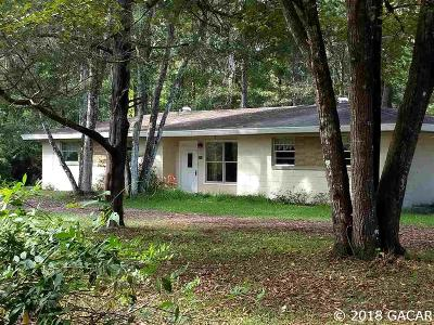 Gainesville Single Family Home For Sale: 6114 NW 77TH Street