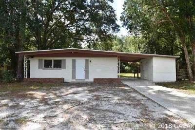 Gainesville Single Family Home For Sale: 1343 NE 31st Avenue