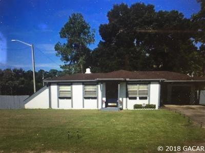 Gainesville Single Family Home For Sale: 3904 NW 14 Street