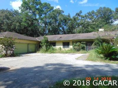 Gainesville Single Family Home For Sale: 2320 NE 64tn Terrace
