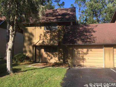 Gainesville Condo/Townhouse For Sale: 4608 NW 41st Place