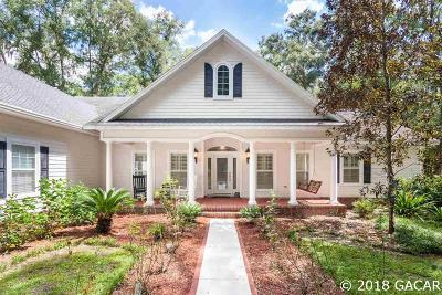 Alachua Single Family Home For Sale: 7257 NW 187 Terrace