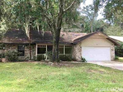 Gainesville FL Single Family Home For Sale: $205,000