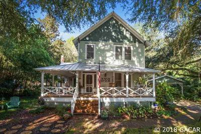 Micanopy Single Family Home Pending: 712 NE Cholokka Boulevard