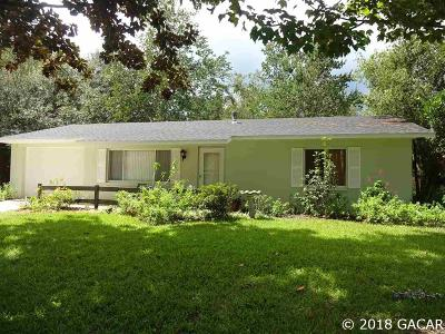 Gainesville FL Single Family Home For Sale: $149,900