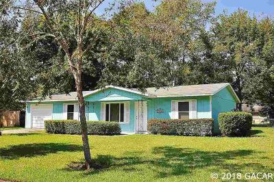 Gainesville FL Single Family Home For Sale: $144,500