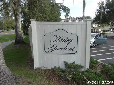 Gainesville FL Condo/Townhouse For Sale: $140,000