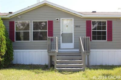 Newberry Single Family Home For Sale: 28917 SW 30th Avenue